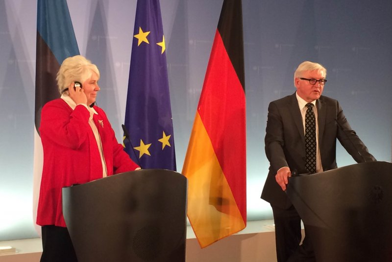Kaljurand to the German Foreign Minister: Europe must preserve unity