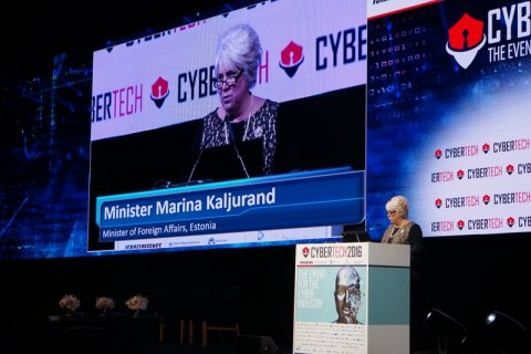 Foreign Minister Kaljurand at the Cybertech 2016 Conference: Cyber security is necessary to protect our e-lifestyle