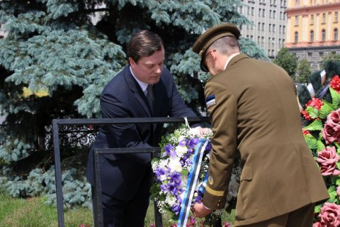 Estonian, Latvian and Lithuanian Ambassadors in Moscow commemorated the victims of the June 1941 deportations